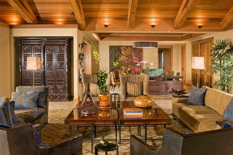 Tropical Living Room Decorating Ideas Living Room Tropical Living Room Hawaii By Dizier Design