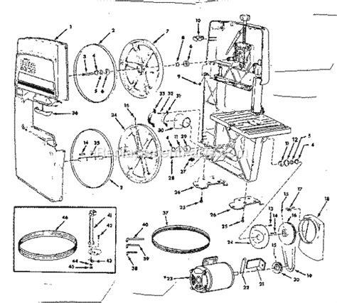 Craftsman 113243311 Parts List And Diagram