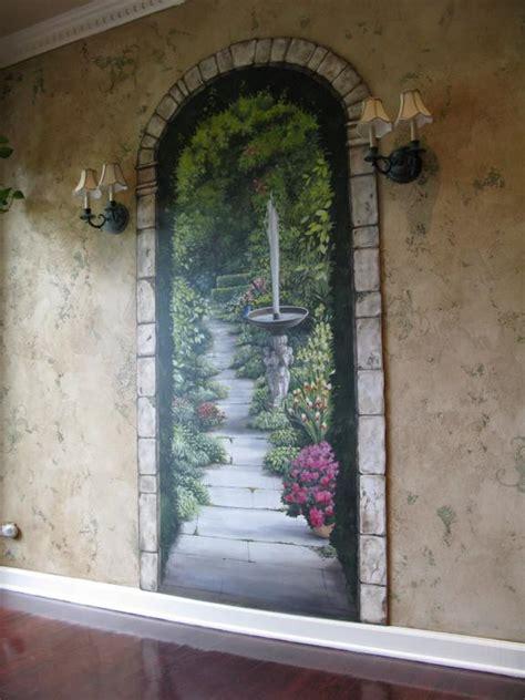 Garden Wall Mural Ideas For More Great Pins Go To Garden Mural Ideas