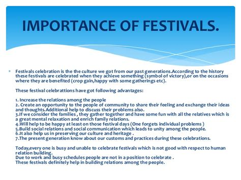 All Indian Festival Essay by Festivals Of India