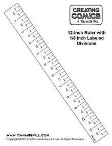 ruler template inches 300 x