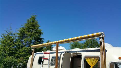 rv retractable awning rv manual retractable awning