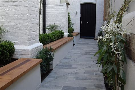 design concrete notting hill private school garden notting hill hardwood seating