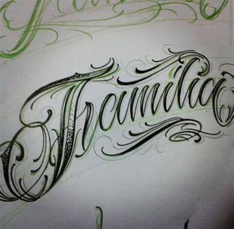 familia lettering pinterest