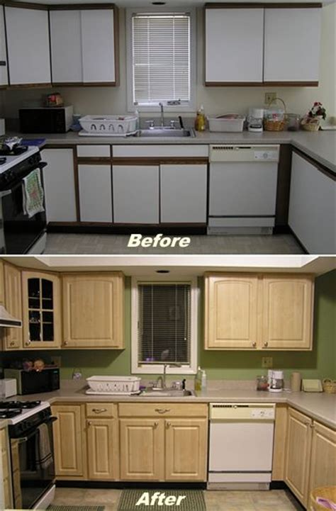replace or reface kitchen cabinets 17 best ideas about redo laminate cabinets on pinterest