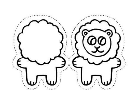 imagenes para colorear y recortar laminas para recortar pegar y pintar animales