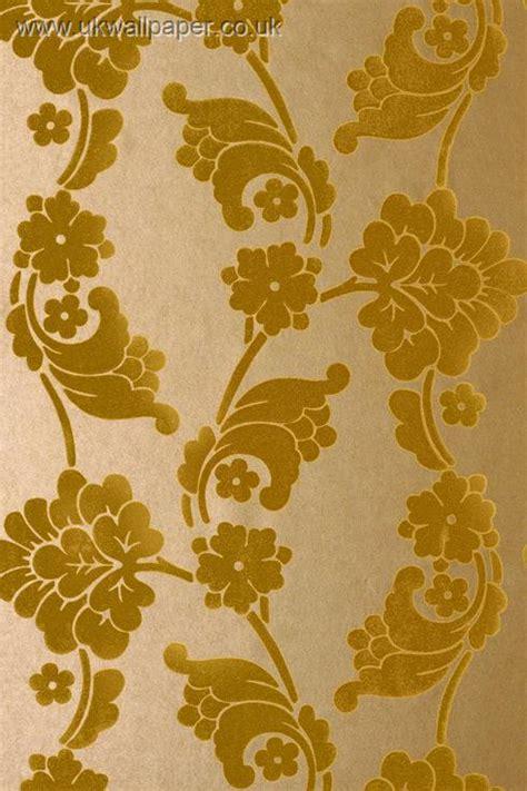 gold velvet wallpaper uk anna french wild flora
