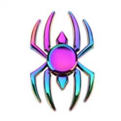 fidget spinner homem aranha spider metal colorido
