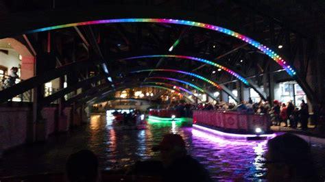 san antonio riverwalk christmas lights boat tour mark and patty rv adventures san antonio tx riverwalk