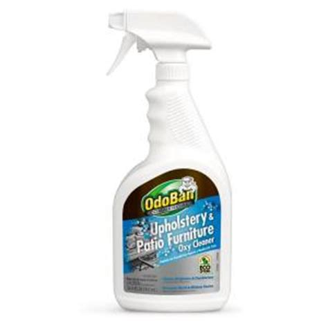 upholstery cleaner home depot odoban 32 oz upholstery and patio furniture oxy cleaner