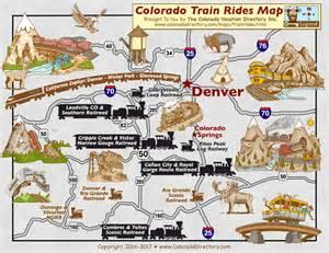 Colorado Attractions Map by Maps Update 670643 Colorado Tourist Map Colorado