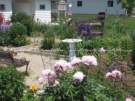 amish flower garden  wanda brunstetter