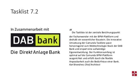 dab bank log in camunda bpm 7 2