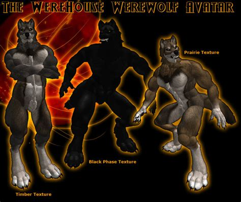 full version werewolf second life marketplace the werehouse full prim werewolf