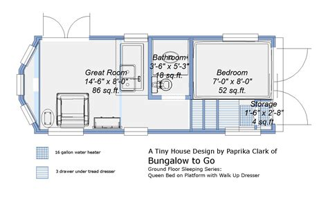 house trailer floor plans real time real tiny ground level bed in a tiny house