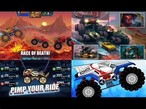 monster trucks you tube mad truck hill climb racing mmx racing monster truck