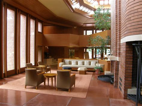 frank lloyd wright house interiors ad classics wingspread frank lloyd wright archdaily