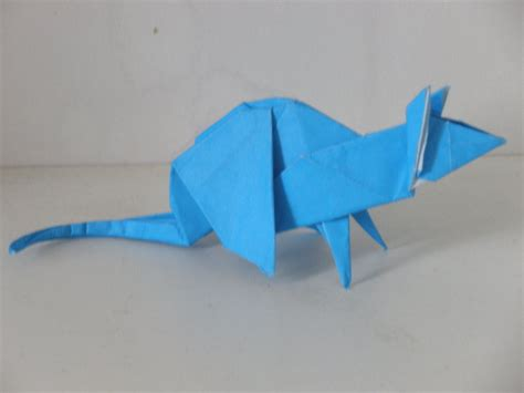 Origami Rat - mouse origami by gardevoir1997 on deviantart