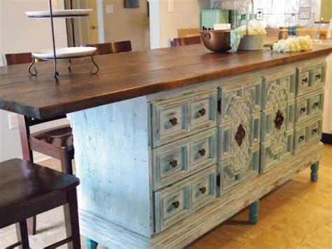 hometalk how to turn a dresser into a kitchen island