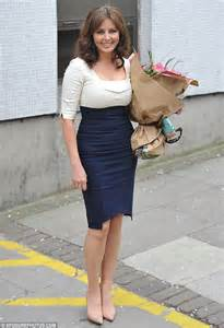 carol vorderman ditches  trainers   practical