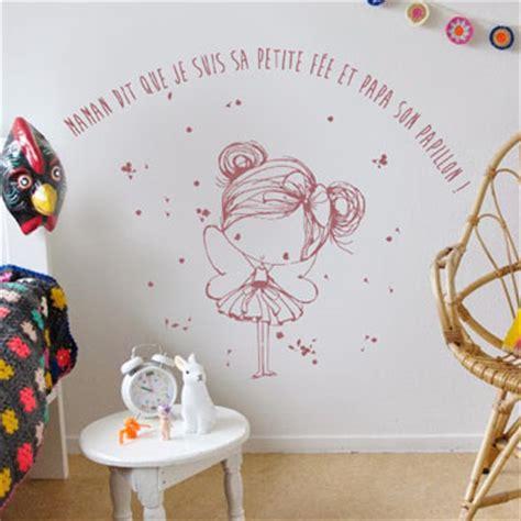 Stikers Chambre Fille by Stickers Decoratifs Chambre Enfant Stickers Citation Enfant