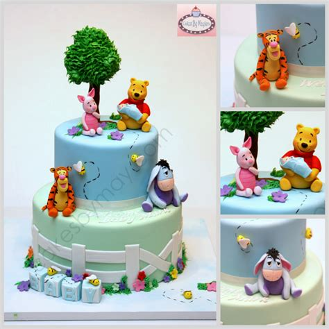 baby winnie the pooh friends winnie the pooh and friends baby shower cake cakecentral
