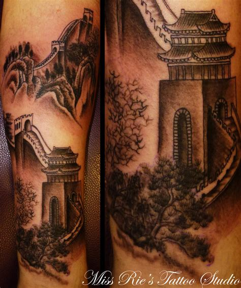 china tattoo great wall of china by onksy on deviantart