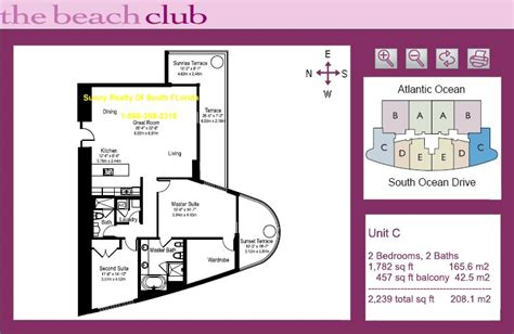 beach club floor plans aventura bal harbour hallandale hollywood floor plans