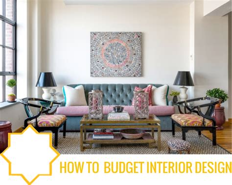 budget interior design decorating first home home design