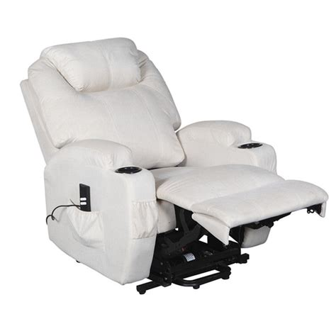 electric recliner chairs cavendish electric recliner chair with heat and massage