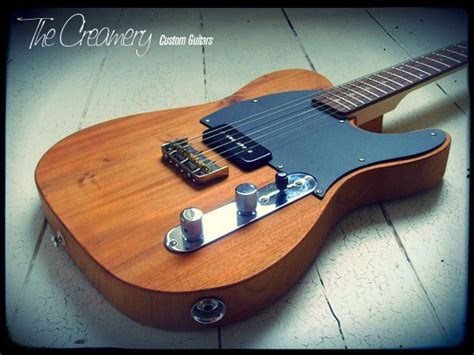 Handmade Telecaster - introducing the northern town guitar