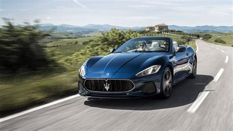 navy blue maserati 2018 maserati gt convertible the purest form of