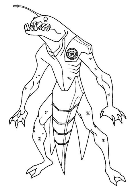 Ben 10 Ultimate Alien Coloring Pages Ben 10 Ultimate Coloring Pages