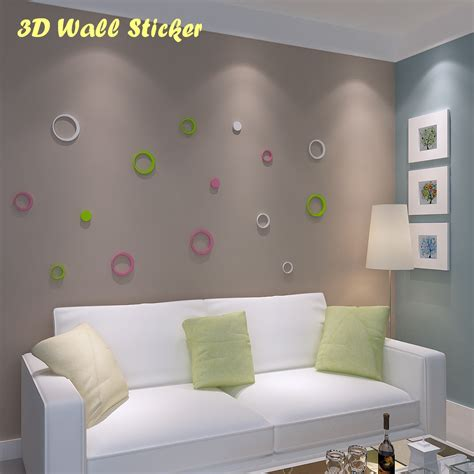 3d Wall Sticker Model Bulat Bahan Kayu Ringan 1 3d wall sticker model bulat hiasan dinding bahan kayu ringan depokmarket