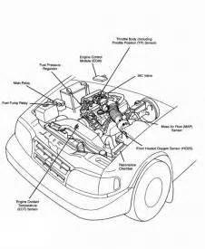 2002 hyundai elantra engine diagram engine car parts and component