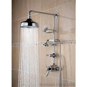 shower bristan traditional shower mixer with fixed