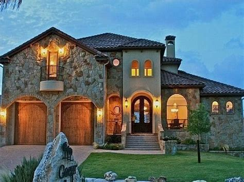 tuscan style homes design house exterior