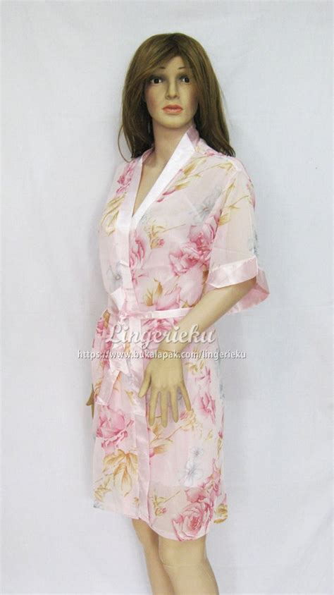 jual beli baju tidur wanita transparan kimono
