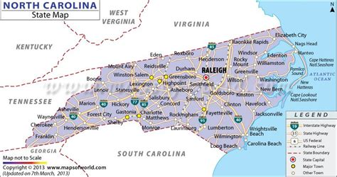 carolina map of cities and towns map of carolina with cities my