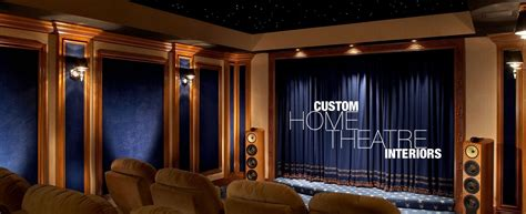 home theater interiors acousticsmart