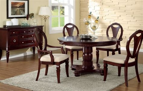 Cherrywood Dining Room Sets by Dark Cherry Wood Dining Room Table Leetszonecom Cheap