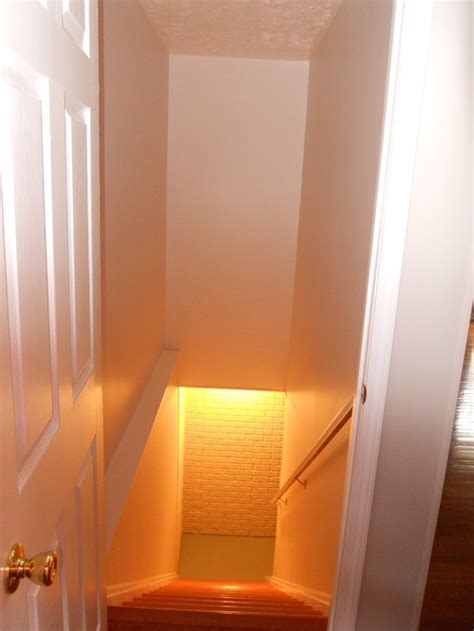 storage closet basement stairwell is it possible