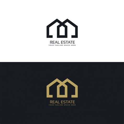 Logo Gold Black gold and black logo with geometric shapes vector free