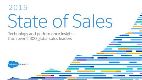 sales of must read research 2015 state of sales salesforce blog