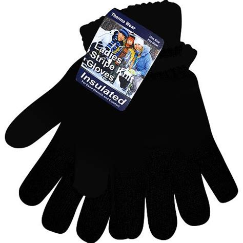 bulk knit gloves wholesale winter knit gloves black glw