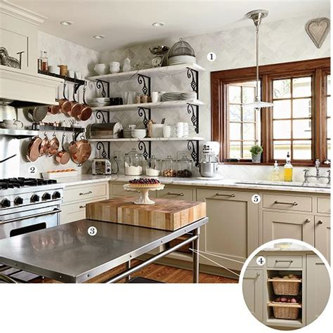 Bistro Style Kitchen by An Ultra Practical Bistro Style Kitchen