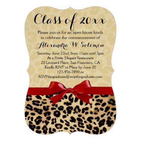 printable animal print birthday invitations personalized leopard print party invitations party