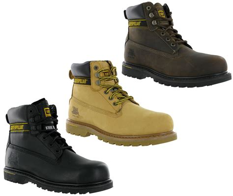 Caterpillar Holton Safety Boots caterpillar holton sb safety boot various colours