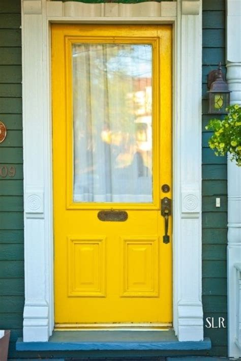 yellow front door yellow front door love by carmela cozy home pinterest