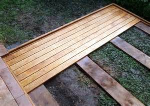 how to level ground for a patio 25 best ideas about ground level deck on